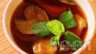 Рецепта Ошав - топла напитка със сушени плодове за Бъдни Вечер и Коледа